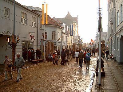 Улица город Хорсенс