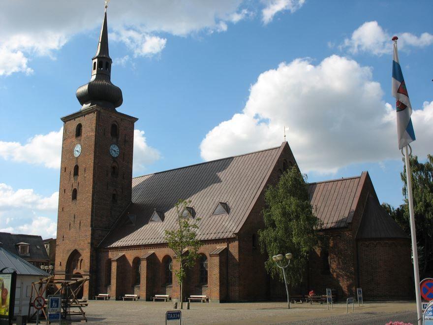 Спасская церковь город Хорсенс