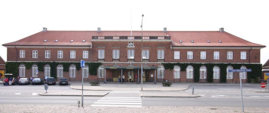 Вокзал город Хорсенс