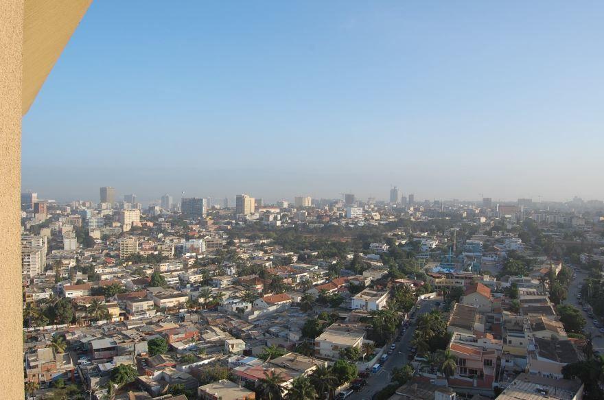 Вид на город Луанда Ангола