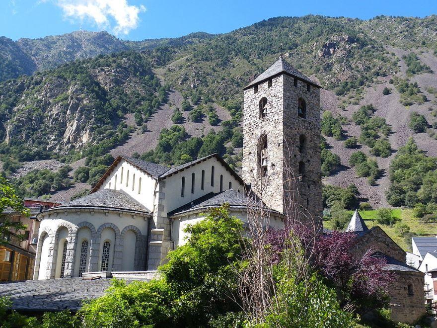 Церковь святого Стефана город Андорра-ла-Велья