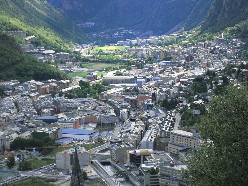 Вид на город Андорра-ла-Велья