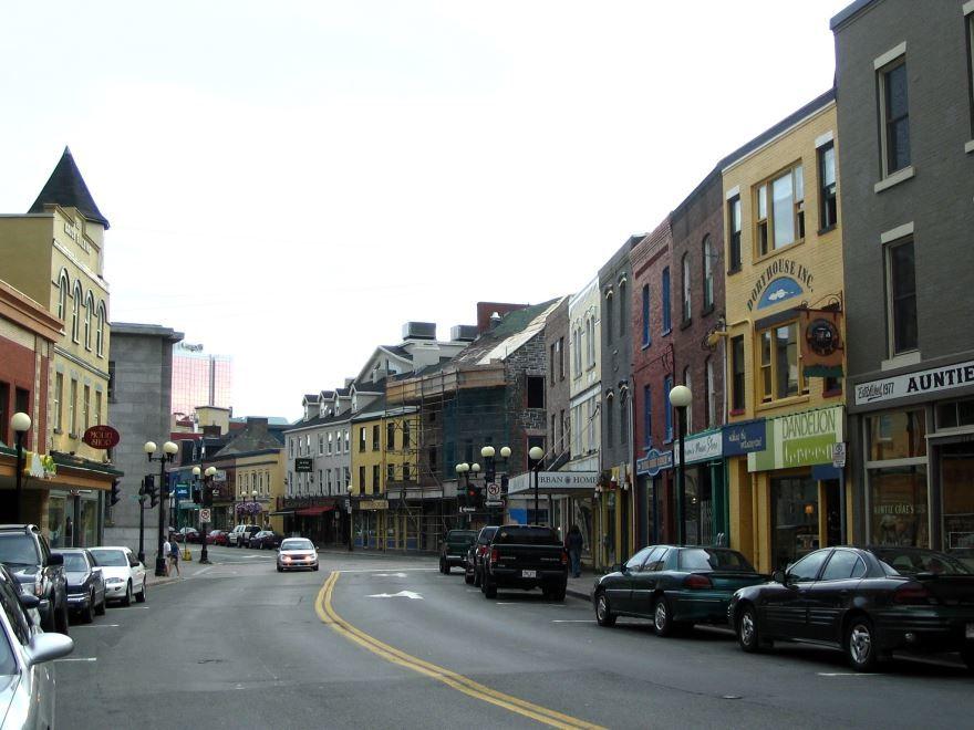 Улица города Сент-Джонс
