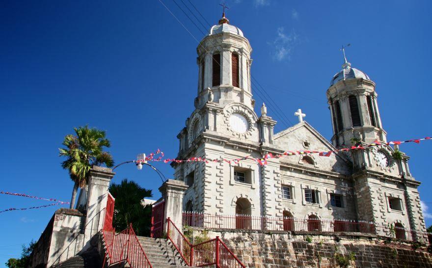 Церковь город Сент-Джонс
