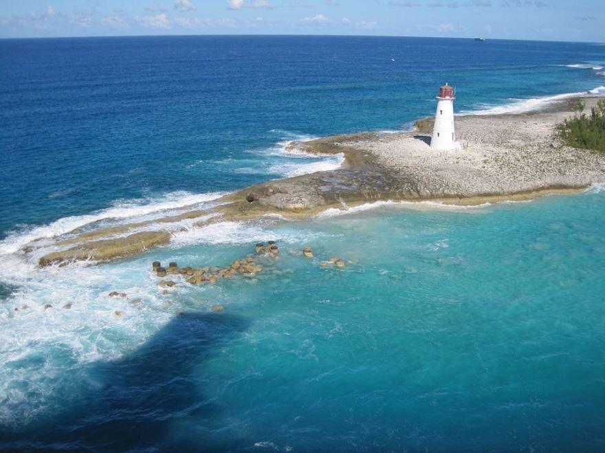 Побережье Багамы