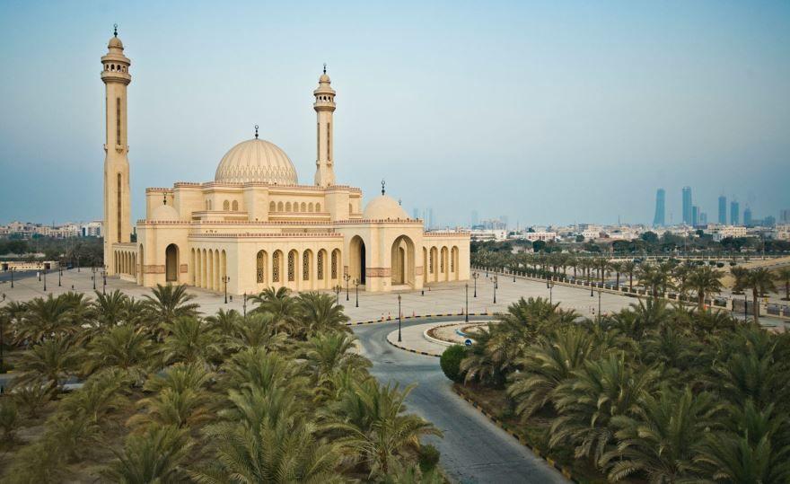 Большая мечеть город Манама Бахрейн