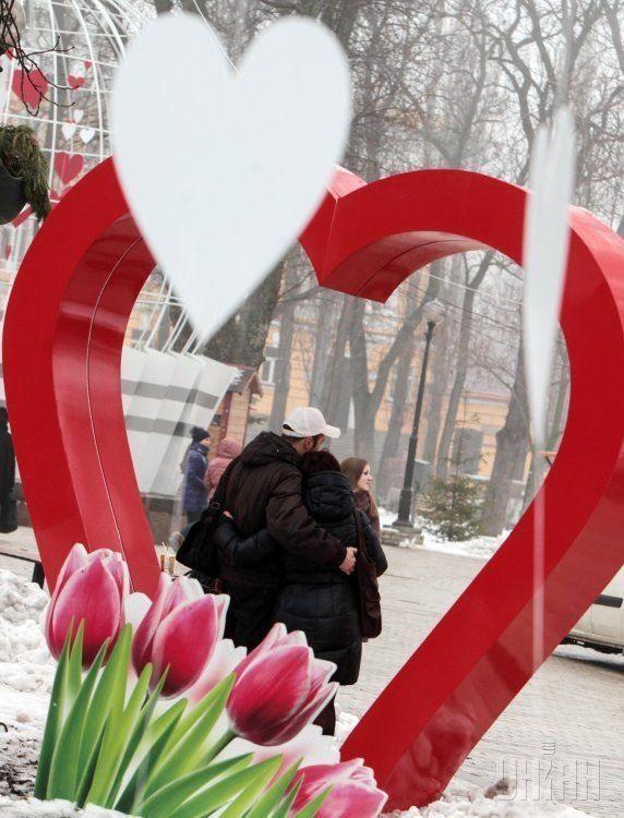 Прикольное фото на День Святого Валентина