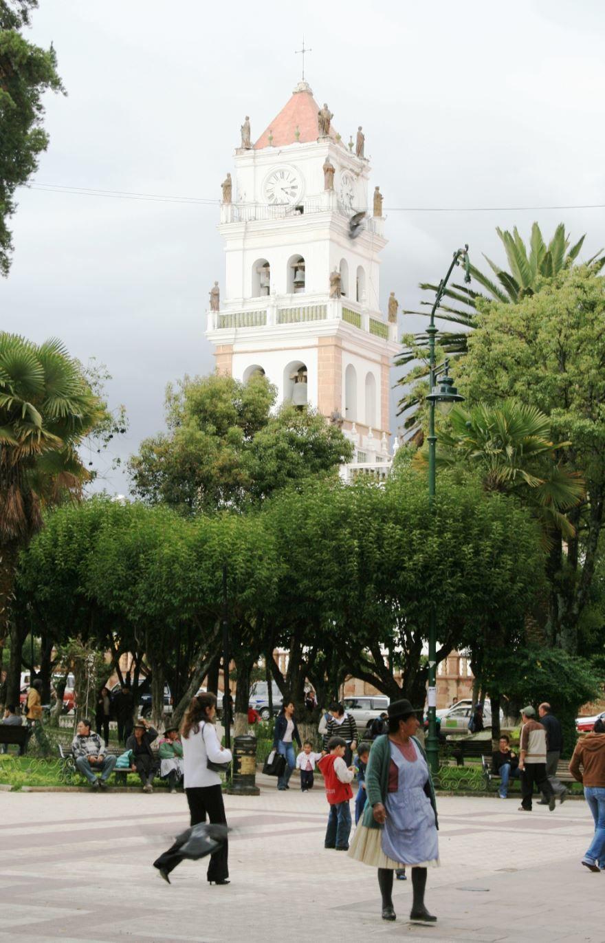 Фото города Сукре Боливия