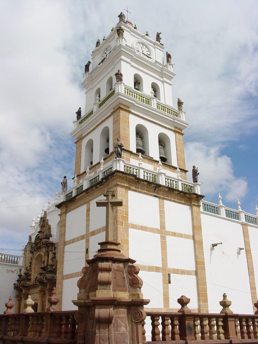 Собор город Сукре Боливия