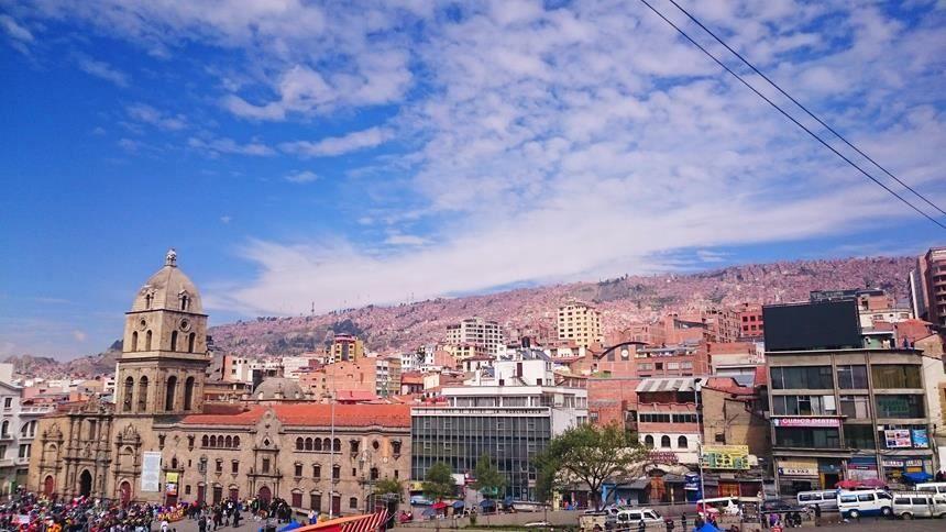 Панорама город Ла-Пас