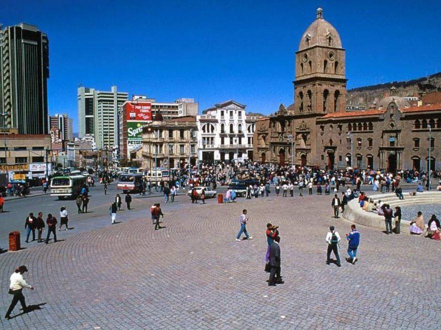 Площадь город Ла-Пас