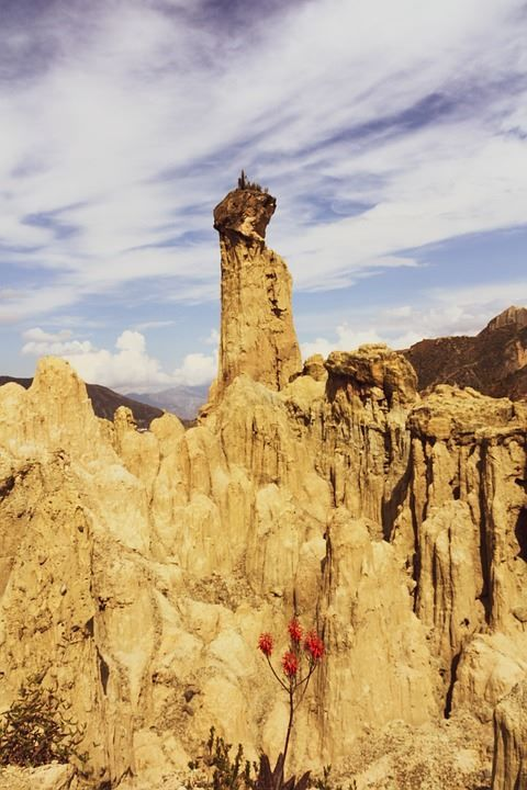 Долина Луны город Ла-Пас Боливия