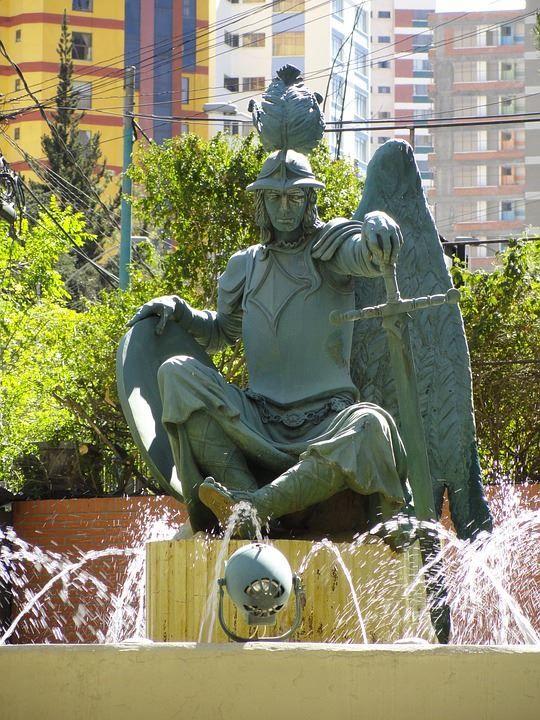 Достопримечательности город Ла-Пас Боливия