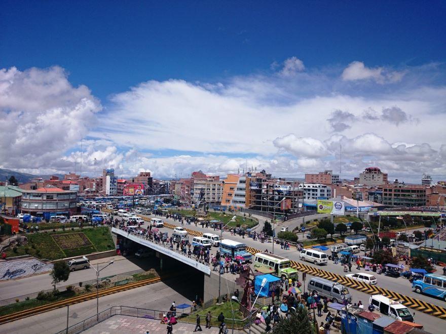 Фото города Эль-Альто Боливия