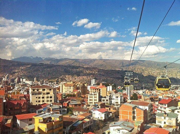 Панорама город Эль-Альто