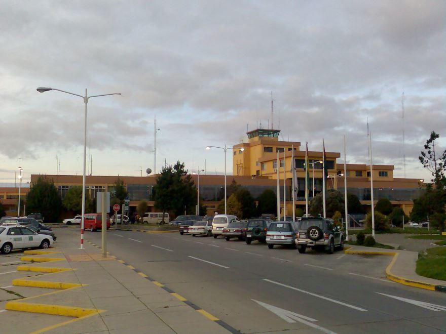 Аэропорт город Эль-Альто Боливия