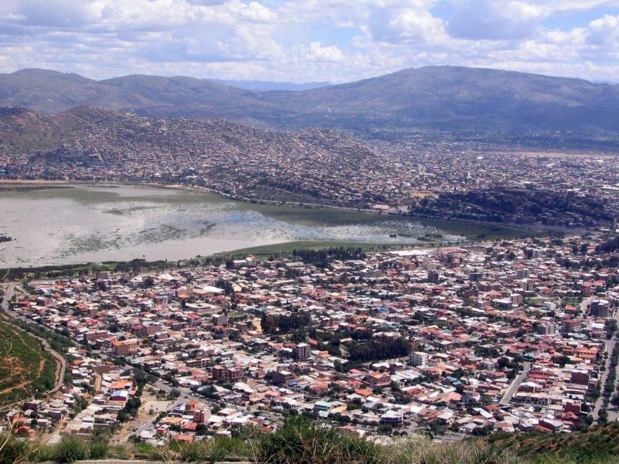 Панорама города Кочабамба