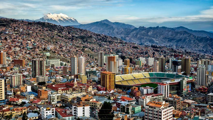 Смотреть красивое фото город Кочабамба