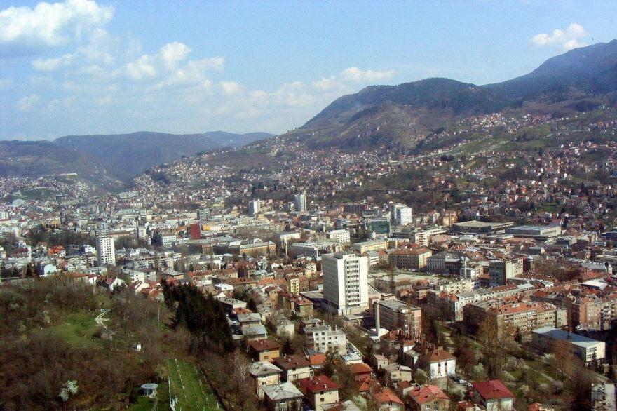Смотреть красивое фото город Сараево Босния