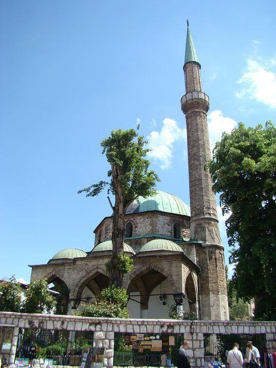 Мечеть город Сараево