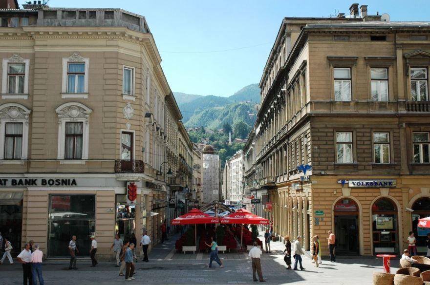 Улица город Сараево