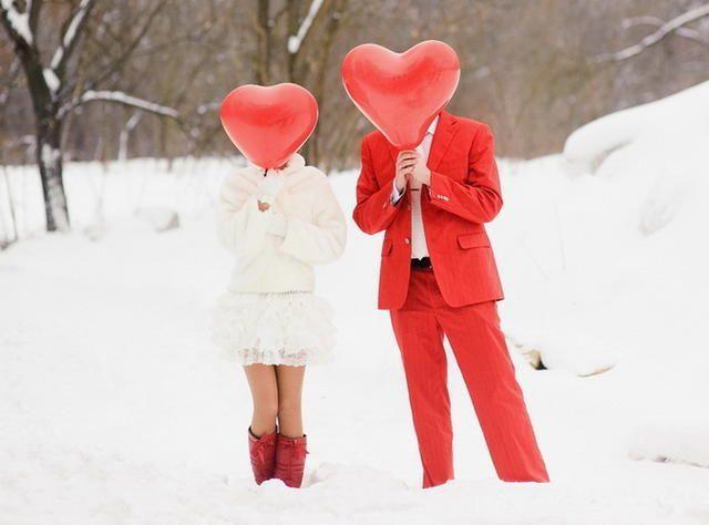 Красивый снимок для влюбленных