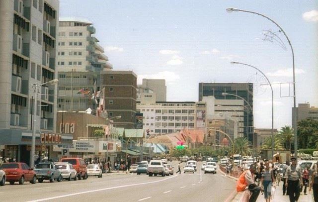 Город Габороне