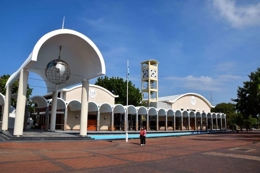 Здание национального собрания город Габороне