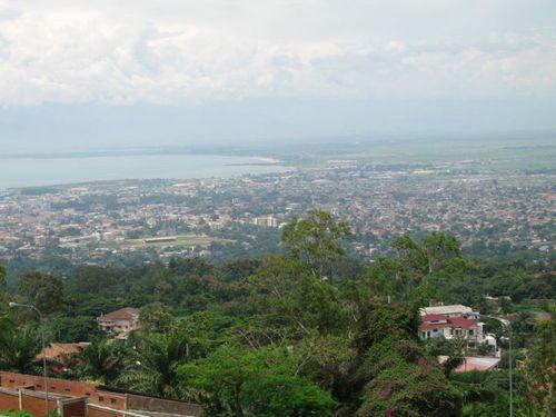 Вид на город Бужумбура