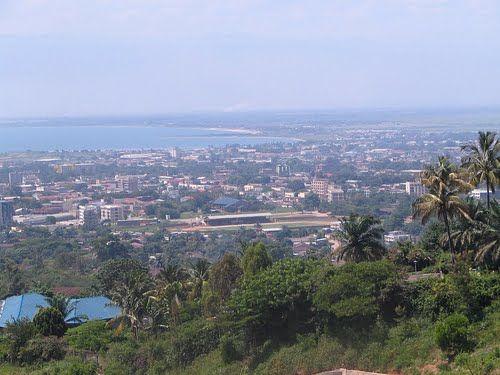 Панорама города Бужумбура