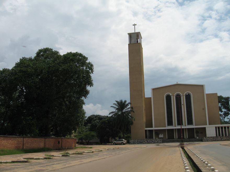 Собор город Бужумбура Бурунди