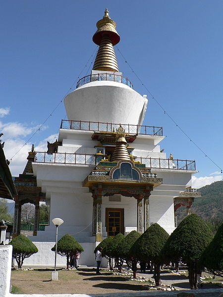 Мемориал Чортен город Тхимпху