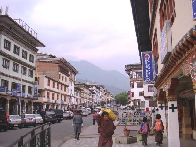 Улица город Тхимпху