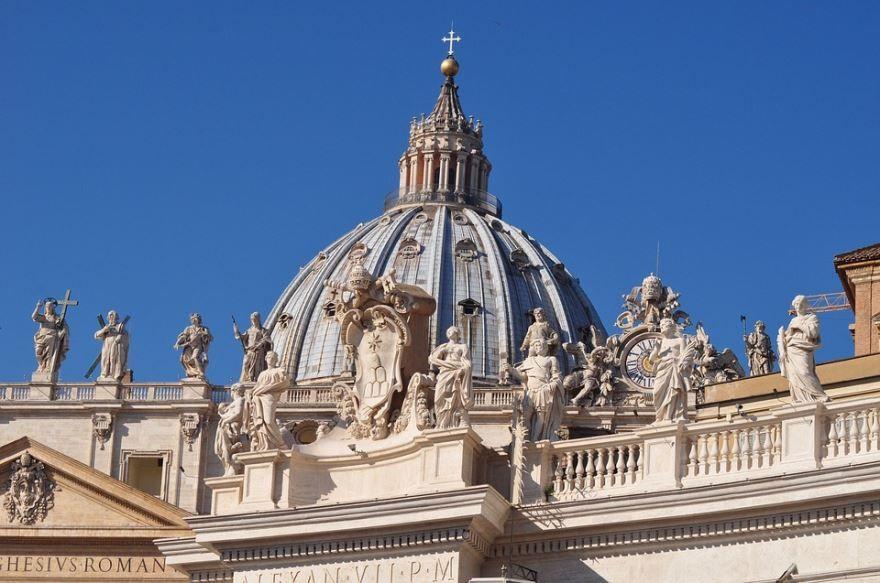 Архитектура город Ватикан