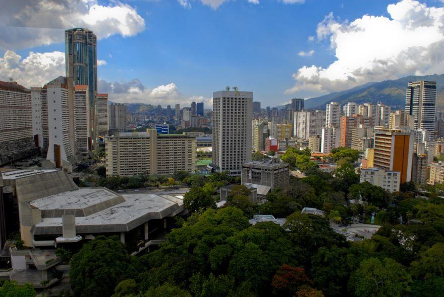Вид на город Каракас 2019