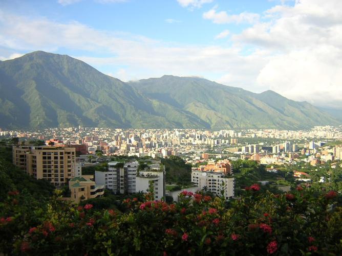 Панорама города Каракас