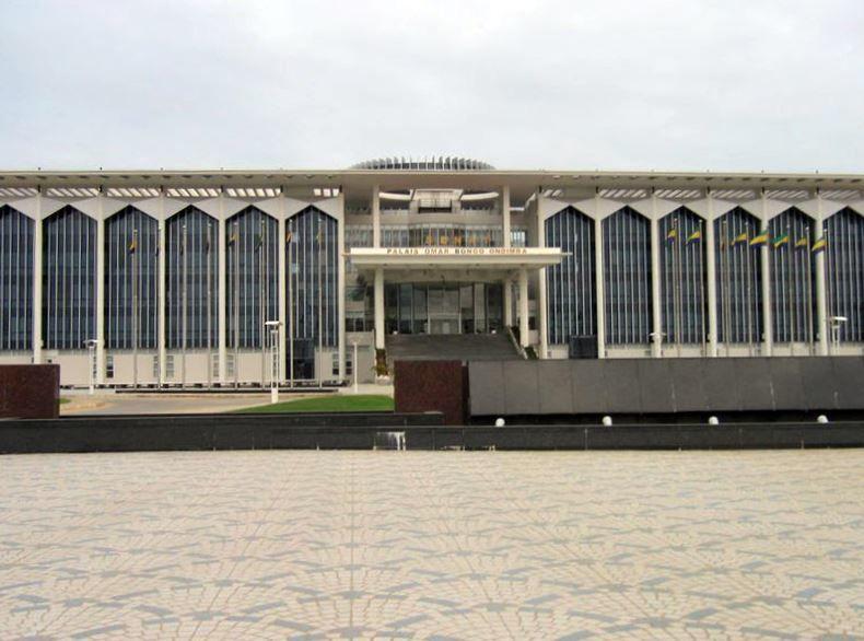 Дворцовый сенат город Либревиль Габон