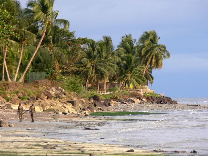 Смотреть красивое фото побережье город Либревиль Габон
