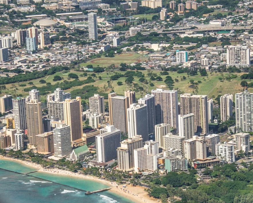 Фото города Гонолулу Гавайские острова