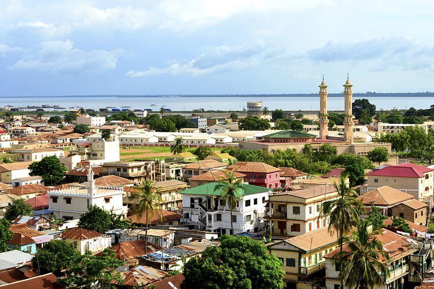 Смотреть красивое фото города Банжул