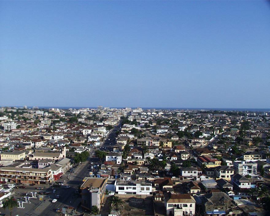 Фото города Аккра Гана