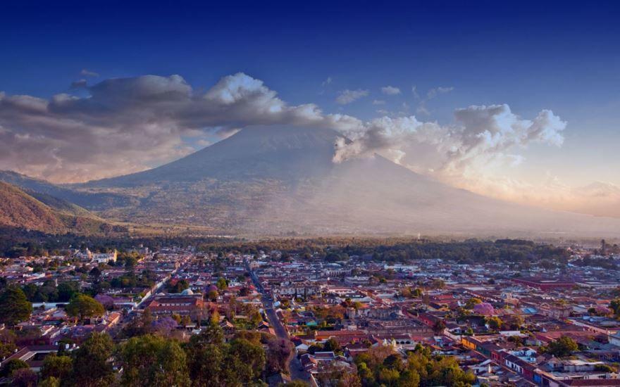Фото города Гватемала