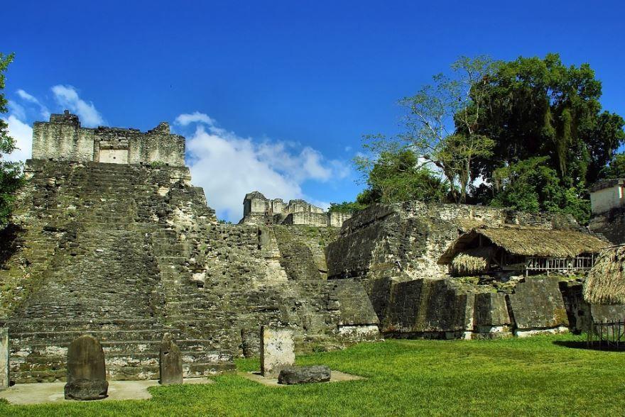 Тикаль Майя Гватемала