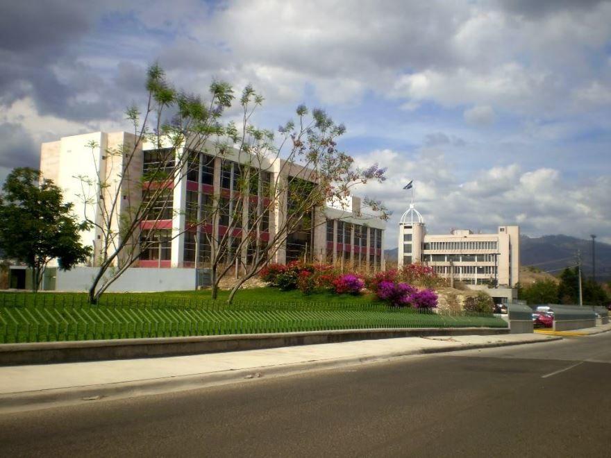Улица город Тегусигальпа