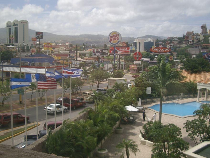 Фото города Тегусигальпа