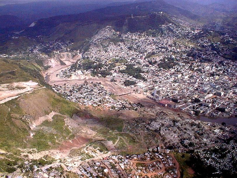 Вид на город Тегусигальпа