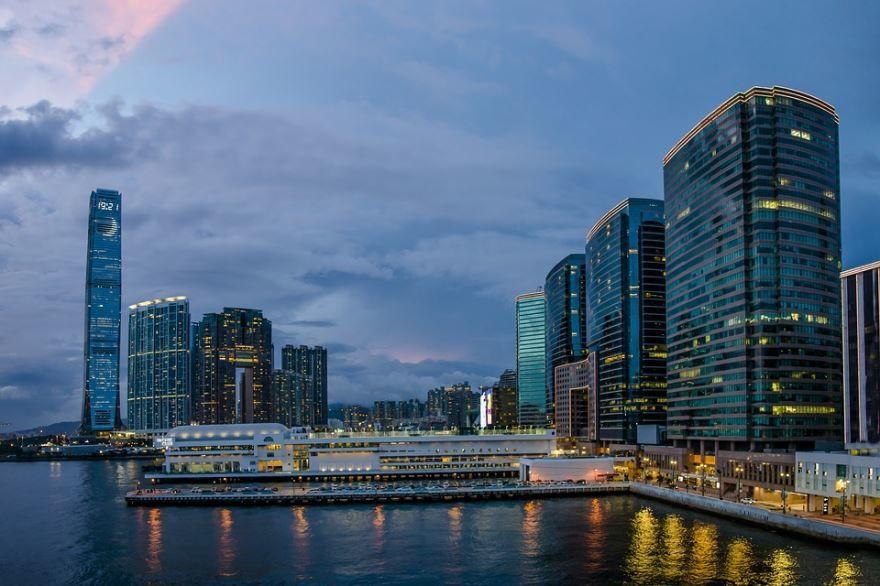 Фото город Гонконг