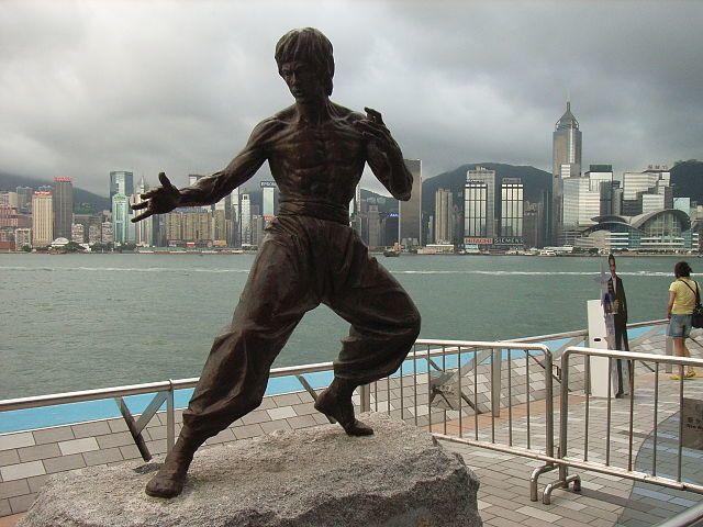 Статуя город Гонконг
