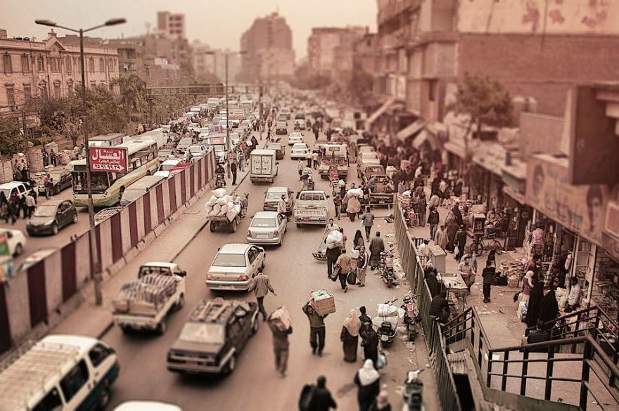 Смотреть красивое фото вид на улицу город Каир