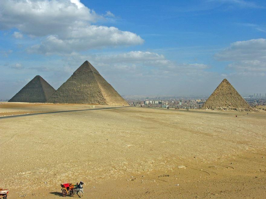 Пирамиды Каир